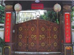 雕刻铜门定制