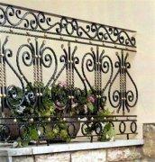 来图生产铁艺阳台护栏