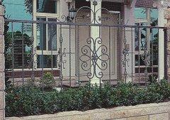 别墅铁艺围栏设计