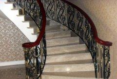 高档旋转楼梯扶手