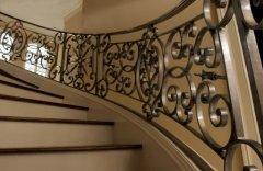 欧式铁艺楼梯扶手 打造精品铁艺