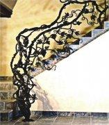 树藤楼梯扶手