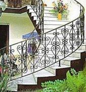 铁艺旋转楼梯扶手