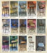 定制各种休闲铁艺桌椅 家具定制
