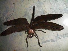 锻打铁艺蜻蜓