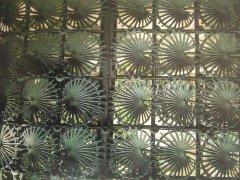 铁艺棕叶围墙栏杆