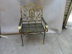 锻打整套欧式铁艺桌椅