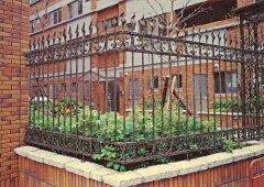 别墅花园铁艺围栏