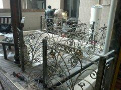 别墅铁艺围栏工艺价值