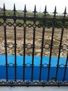 佛山南庄工地铸铁围栏