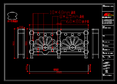 高档别墅杏彩入口CAD图