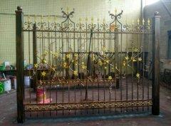 锻造学校欧式铁艺围栏