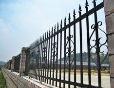 简约式铁艺围栏