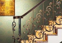 佛山铁艺楼梯扶手栏杆