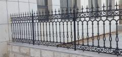 欧式铸铁铁艺围栏