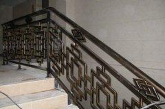 欧美铁艺楼梯扶手
