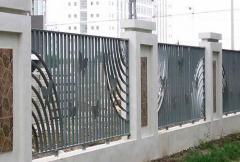 外墙铁艺围栏