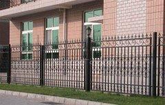 铁围栏施工方案