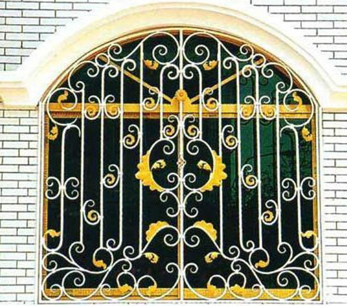 欧式铁艺窗