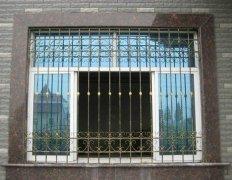 简约铁艺防盗窗