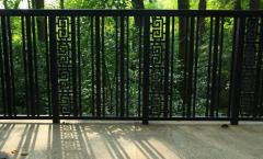 铁艺围栏安装效果图