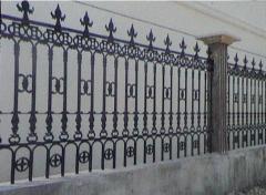 别墅铸铁围栏