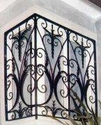 锻造欧式铁艺窗