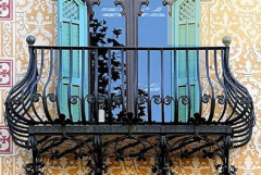 阳台欧式杏彩入口