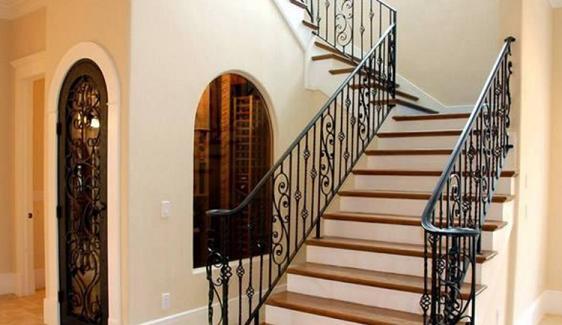 室内铁艺楼梯图欣赏