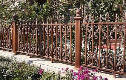 别墅铁艺围栏欣赏